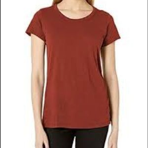 NWOT J. CREW Rusty Red 100% Vintage Cotton T-shirt